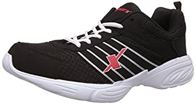 Sparx Men's Black and White Running Shoes - 6 UK/India (40 EU)(SX0271)