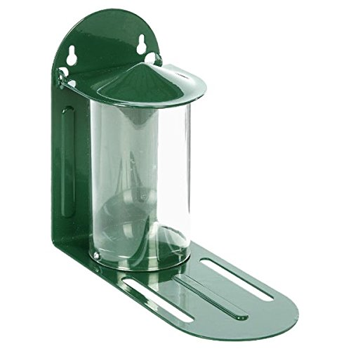 The C J Wildbird Foods Cj Squirrel Feeder is probably one of the best model currently available, high quality construction, metal build with clear strong plastic feeder housing.
