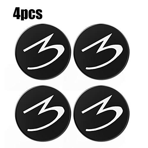 Festnight Set of Four Alloy Wheels Centre Hub Caps, Tapa de Juego de Base para Tesla Modelo 3