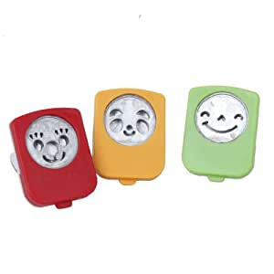 Set of 3pcs Smiley Face Expression Pattern Nori Punch Cutters Mold DIY by Generic
