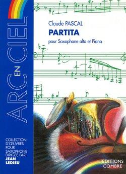 Partita pour Saxophone alto Mib et piano