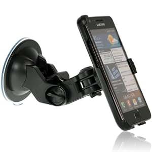 """Wicked """"Hold"""" für Samsung Galaxy S2 / i9100 S II KFZ Halterung vibrationsfreie Autohalterung - auch für Landscape Modus"""