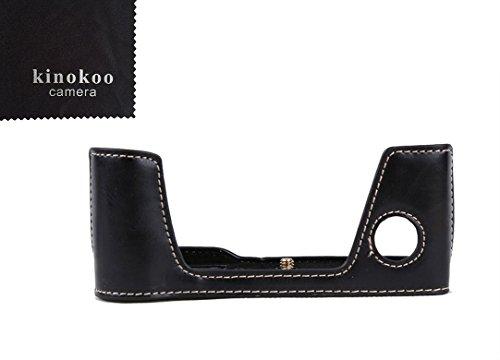 kinokoo Demi Fond Étui en cuir pour Appareil photo Fujifilm x-pro2en cuir PU Bas open-able