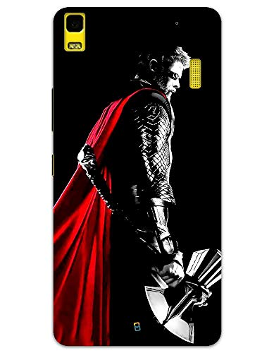 myPhoneMate Thor with Stormbreaker Art Designer Printed Hard Matte Mobile Case Back Cover for Lenovo K3 Note