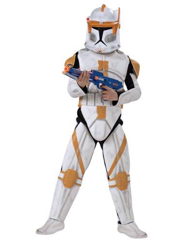 Kostüm Deluxe Clone Trooper Kommandant Cody ()