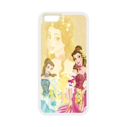 Customized Beauty And The Beast Fashion iphone 6Case Cover de Black Best Protective PC and TPU Cover
