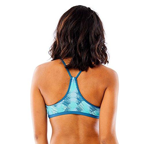 Carve Designs Damen Catalina Racerback Bikini Top Agave