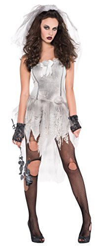 Kostüme Zombie Dress Up (Amscan International Adults Drop Dead Gorgeous Zombie Costume (UK 10-12) by Amscan)