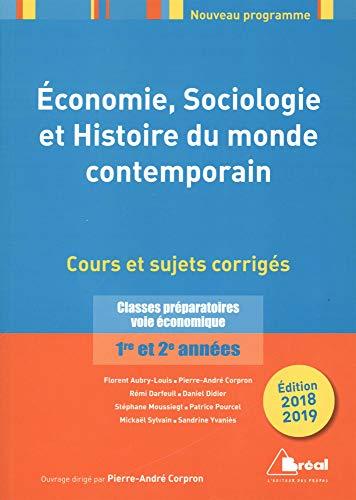Economie, sociologie et histoire du monde contemporain par Collectif