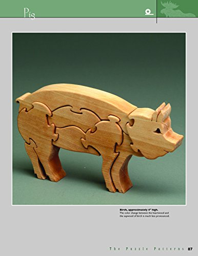Animal Puzzles For The Scroll Saw Scroll Saw Woodworking Crafts