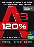 Alcohol 120% Version 13 - Brennen, Kopieren, Rippen, Sichern Windows 10 / 8.1 / 7 Bild