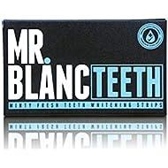 Mr. Blanc Teeth - Teeth Whitening Strips - 2 Week Supply - Professional Teeth Whitening - Enamel Safe - Non Peroxide