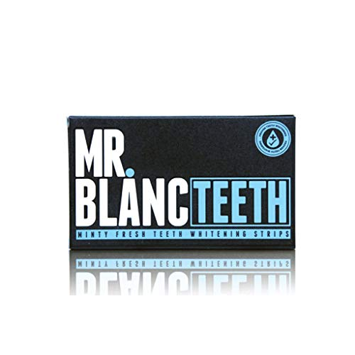 Sr. Blanc dientes tiras de blanqueamiento -