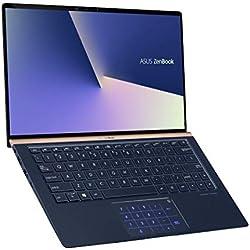 "Asus ZenBook UX333FN-A3026T Ultrabook 13,3"" Bleu (Intel Core i7, 8 Go de RAM, SSD 256 Go, Nvidia GeForce MX 150 avec 2 GO, Windows 10) Clavier AZERTY Français"