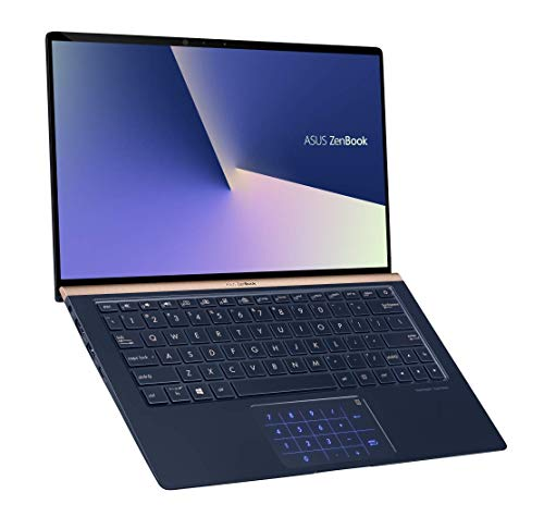 "Asus ZenBook UX333FN-A3026T Ultrabook 13,3"" Bleu (Intel Core i7, 8 Go de RAM, SSD 256 Go, Nvidia GeForce MX 150 avec 2 GO, Windows 10) Clavier AZERTY Français"
