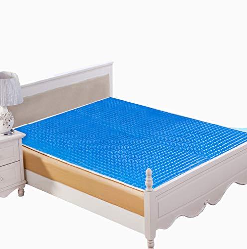 BAIJ Gel-Matratzenauflage, verteilt schnell und gleichmäßig die Körperwärme und reduziert effektiv die menschliche Epidermis um 2-3 ° C,47.2x78.7inch (Kühlung Matratze Königin)