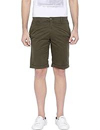 Showoff Men's Printed Casual Slim Fit Shorts - B01M0JXSVV