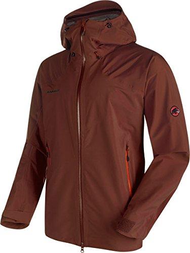 Mammut Teton HS Hooded Jacket Men - Wasserdichte Outdoorjacke Maroon