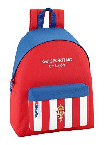 Rucksack Real Sporting De Gijon - Offiziell - Kinderrucksack Preisvergleich