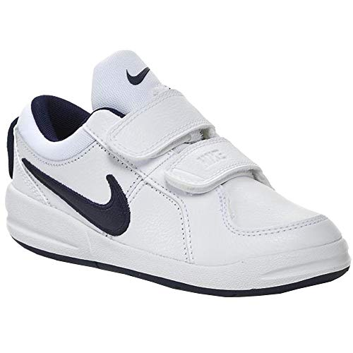 Nike pico 4 psv scarpe sportive, bambino, bianco (white / midnight navy), 34 eu