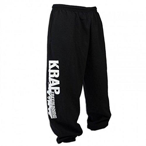 KRAP Pantalones Freerunning Negro (M)