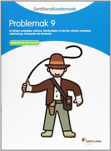 PROBLEMAK 9 SANTILLANA KOADERNOAK - 9788498943337 por Batzuk
