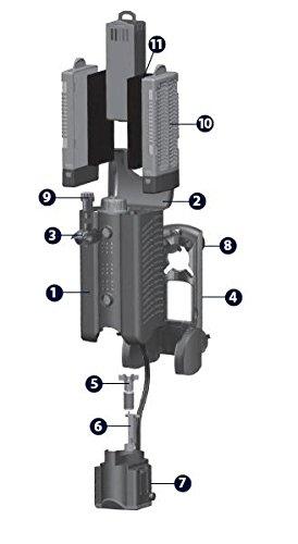 Askoll rechange Cartouche Poly/charbon pour filtre kompatto 3