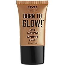 Nyx Professional Makeup Born to Glow Liquid Illuminator, Pure Gold, 18ml