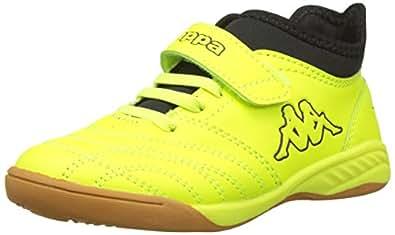 dba886468 Kappa Unisex Kids' Final Ii Multisport Indoor Shoes, (Yellow/Black 4011)