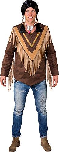 Indianer Poncho Kostüm - Orlob Fasching Kostüm Herren Indianer Poncho