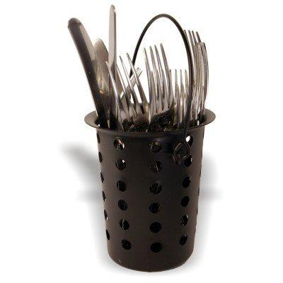 Nero portaposate in metallo - ideale per ristoranti , pub