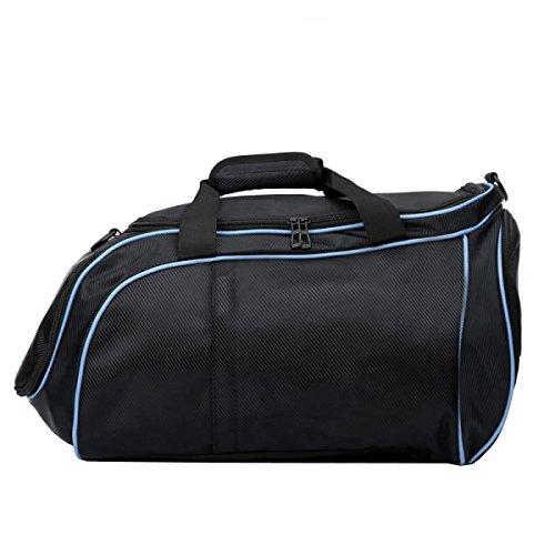 Fitness Umhängetasche Messenger Handytasche Sporttasche Fitnesstasche Große Kapazität Handtasche Blue