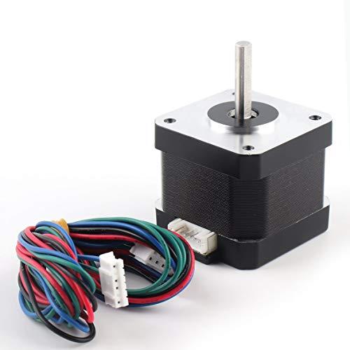 Heaviesk 42 Tornillo Lineal Motor Paso a Paso Bipolar 4 Conductores 0,4NM Hold Torque Step Motor para Impresora 3D Hobby CNC máquina de Grabado