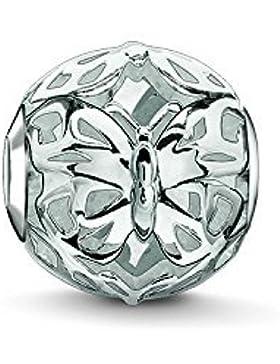 Thomas Sabo Damen-Bead Schmetterling Cut-out Karma Beads 925 Sterling Silber K0231-001-12