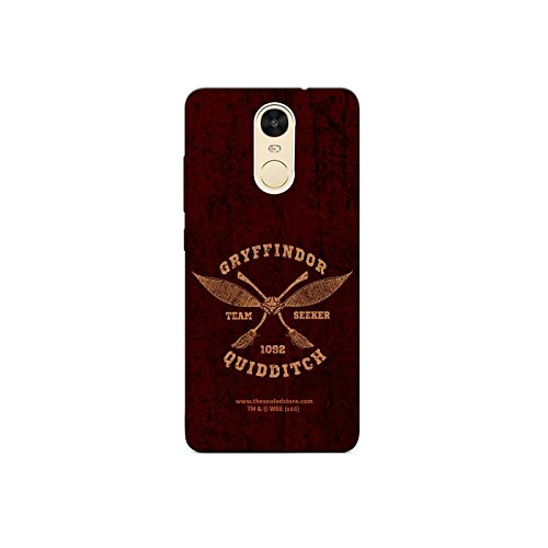 Gryffindor Quidditch Xiaomi Redmi Note4 Mobile Case by The Souled Store