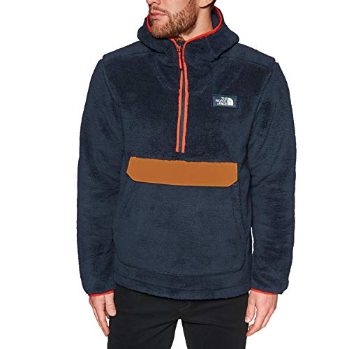 THE NORTH FACE Campshire Pullover Hoodie Herren urban Navy/Caramel Cafe Größe M 2019 Midlayer Face Hoodie