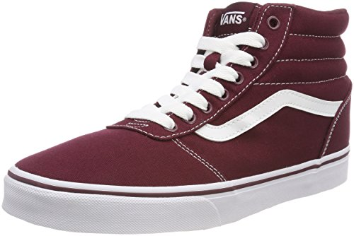 Canvas Hohe Sneaker, Rot Port Royale/White 8j7, 46 EU ()