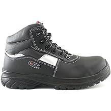 4Walk Stone S3 - zapatos de seguridad puntera composite - negro - talla 38 WbVjJ06