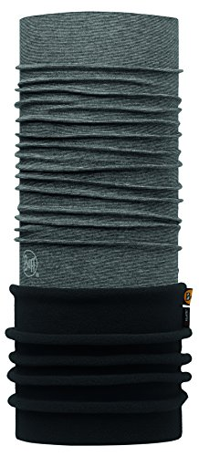 Buff Icy Schlauchschal, Grey Stripes / Black, One Size