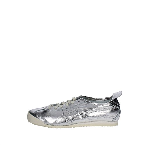 Onitsuka Tiger d6g1l..9393 sneakers pelle sintetico Argento