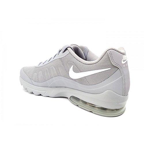 Nike Air Max Invigor 749680 005 Mesh Loup Gris / Blanc Scarfo Uomo Running Loup Gris / Blanc