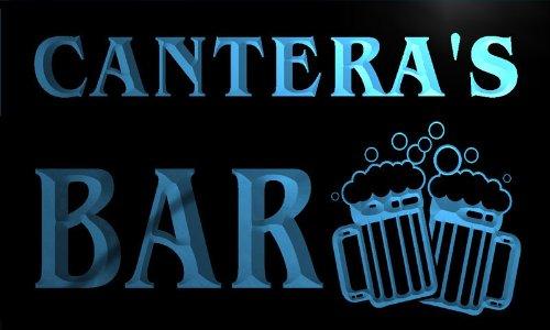 w038714-b CANTERA Name Home Bar Pub Beer Mugs Cheers Neon Light Sign Barlicht Neonlicht Lichtwerbung