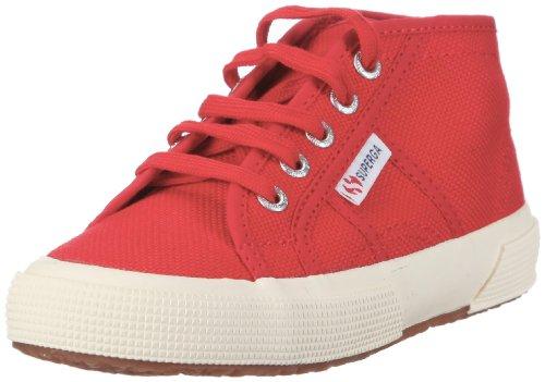 Superga 27454 JCOT-Classic S001LW0, Unisex - Kinder, Sneaker, Rot (975 Red 975), EU 30 (27454)