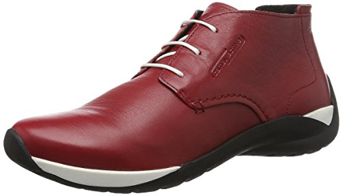 camel active Damen Moonlight 73 Derby, Rot (Red 03), 42 EU (Rot Schuhe Band)