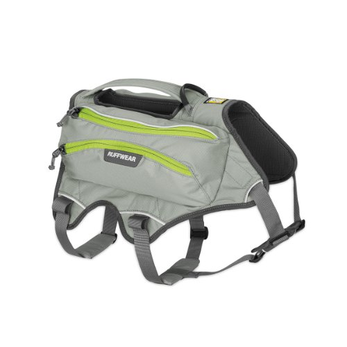 Ruffwear - SingleTrak Pack, color cloudburst, talla S