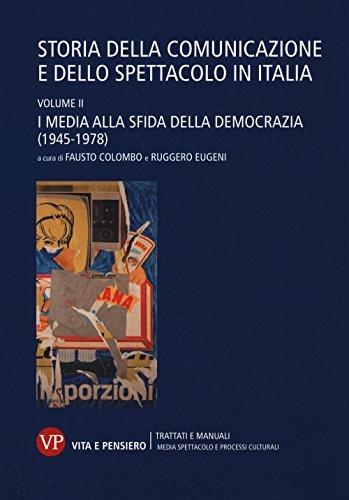 Storia della comunicazione e dello spettacolo in Italia: 2