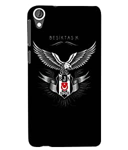 Citydreamz Eagle\Black Hard Polycarbonate Designer Back Case Cover For HTC Desire 820