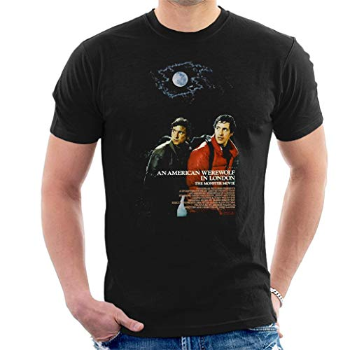 f82071ae ... American Werewolf in London Movie Poster Men's T-Shirt