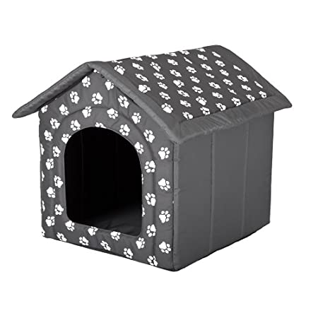 Hunde- oder Katzenzwinger / Haus / Bett, Größe M, Pfote Design