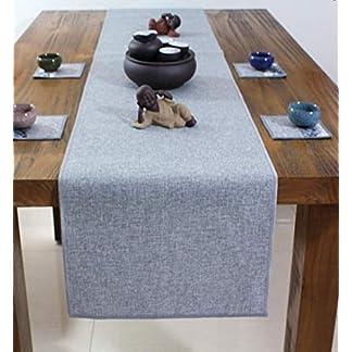 ZackLiz Centro Mesa Navidad Caminos De Mesa Mantel Individualcómoda Decoración De Tela Salón Cocina Exterior Jardín Fiesta Color gris40*290cm